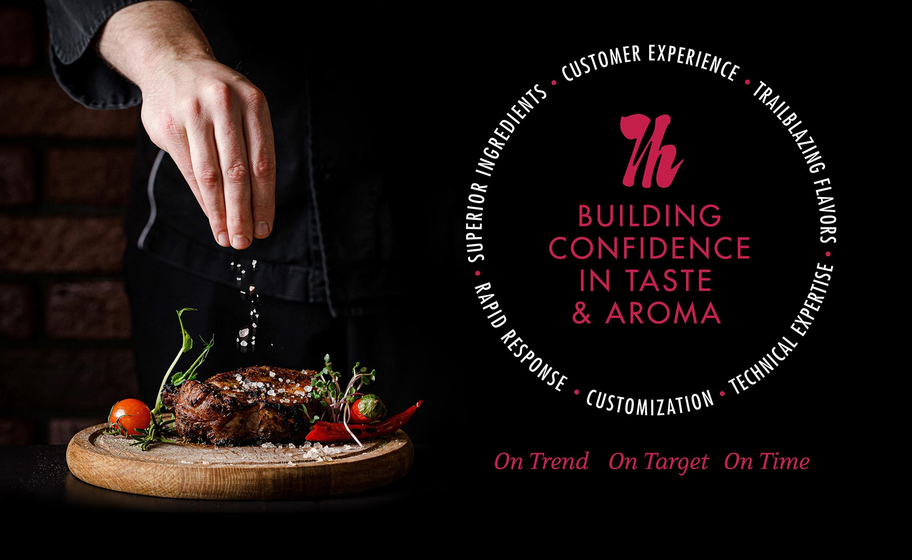 Building Confidence in Taste and Aroma